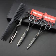 5.5 inch Hair dressing Scissors/shears Cutting+Thinning Shears+Razor+comb+kits
