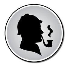 Sherlock Holmes Vinyl Sticker - SELECT SIZE