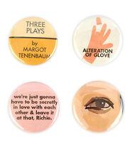 Margot Tenenbaum Badge Set! -The Royal Tenenbaums - Wes Anderson Gwyneth Paltrow
