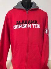 Alabama Crimson Tide Full Zip Hoodie Big & Tall Sweatshirt Jacket Bama