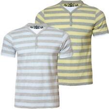 Para Hombre disidente Mc 14646 a rayas de manga corta camiseta TEE Top