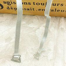 BH Träger, 10 mm, elastisch, Metallverschuß in schwarz/weiß