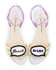 Sophia Webster Ellen Beach Babe Speech Bubble Sandal MSRP: $450.00 Mult Sz