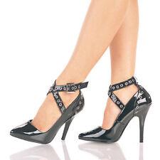 "PLEASER Seduce-443 Sexy Dress 5"" Heels Pumps Drag Cross Dress Women's Size 4-15"