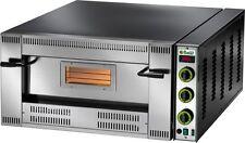 FORNO PIZZA A GAS 1 CAMERA CM 92X92 Professionale 24500 W 9 PIZZE CM 30 METANO
