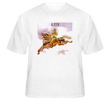 Budgie Music Band Hard Rock Heavy Metal Retro T Shirt