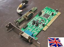 PCI RS422 RS485 2 porta seriale scheda 16c1050 basso profilo