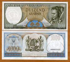 Suriname /  Surinam, 1000 Gulden, 1963, P-124, UNC