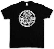 ? Tokugawa clan logotipo mon t-shirt shogunato Shogun Oda Nobunaga? Tokugawa Leyasu