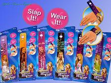 Disney Hannah Montana Snap Armband, Schnapparmband, Slap Bracelet