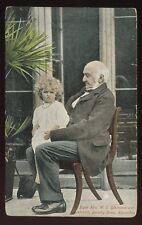 Political Rt Hon WE Gladstone and grandchild PPC