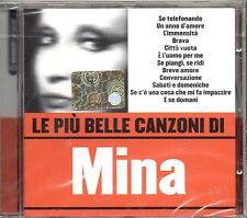 MINA  CD  LE PIU' BELLE CANZONI  seconda COPERTINA  sigillato  MADE in EU  2005