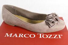 Marco Tozzi donna ballerina pantofola Scarpe basse Décolleté NUOVO