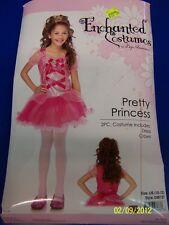 2 pc. Pretty Princess Peach Pink Dress Up Leg Avenue Halloween Child Costume
