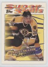 1995-96 Topps Super Skills #26 Don Sweeney Boston Bruins Hockey Card