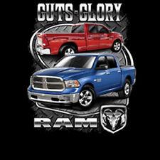 Guts Glory Ram Tough Logo Trucks Dodge Chrysler Car T-Shirt Tee