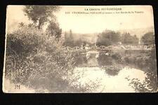 CHAMBON SUR VOUEIZE-LES BORS DE LA VOUEIZE  1915