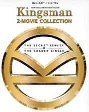 KINGSMAN: THE SECRET SERVICE/KINGSMAN: THE GOLDEN CIRCLE NEW BLU-RAY DISC