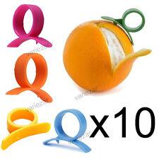 Pelador de Naranjas Limones Citricos fácil anillo abridor plástico cortar piel