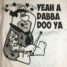 Dab T-Shirt Fred Flinstone Haskulls LIMITED 420 Weed Pot Shatter Rosin