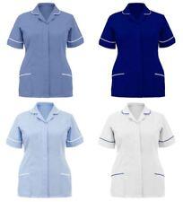 Ladies Nurses Hospital Carer Uniform Maid Nurse Workwear Healthcare Tunic Outfit