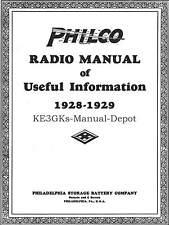 Philco Radio Manual of Useful Information * CDROM * PDF