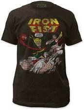 IRON FIST DANNY RAND-K'AI MARTIAL ARTS MARVEL COMICS SUPER HERO T SHIRT S-2XL