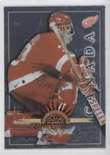 1997-98 Leaf International Stars #47 Chris Osgood Detroit Red Wings Hockey Card