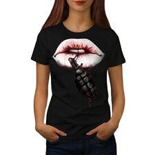 Wellcoda Grenade Stylish Womens T-shirt, Deadly Casual Design Printed Tee