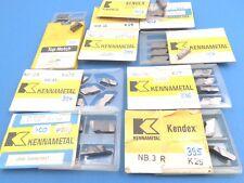Stechplatten Carbide Inserts Kennametal NB-3  NB-4  L/R  K29/K45/K2S ...
