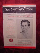 Saturday Review February 25 1939 ELIZABETH PAGE DAVID LLOYD GEORGE +