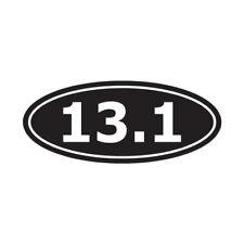 """PINK Marathon 13.1 Im Only Half Crazy Running Jogging Funny Sticker Decal 2.5/"""""""