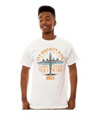 Fly Society Mens The Navigators Graphic T-Shirt