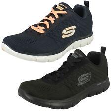Mujer SKECHERS 12757 Flex Appeal 2.0 - Break Free Zapatillas Con Cordones