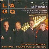 Interchange: Concertos by Joaquin Rodrigo, Sergio Assad, David Amado, Delaware