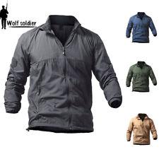 Tactical jacket Mens Military Waterproof Sunscreen Skin Windbreaker Zip Hoodie