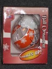Virginia Cavaliers 3 inch Holiday Ball Ornament Lights Up NIB