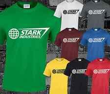 Stark Industries Mens T Shirt Cool Fashion Comic DC Film Iron Big Bang Theory