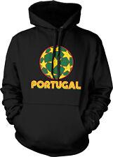Portugal Star Soccer Ball- Futbol Portuguese Pride  Hoodie Pullover