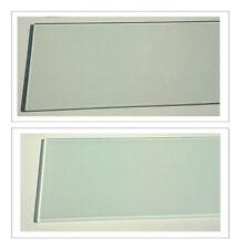 Glasboden Glasscheibe Glasplatte 40x20 klar satiniert Glas / 6mm /für Glasregal