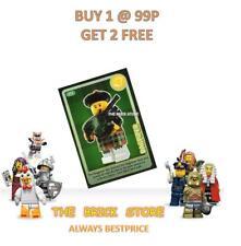 LEGO #075 - PERSONAGGIO-crea il mondo TRADING CARD-Bestprice + REGALO-NUOVO