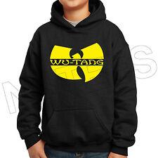 Wu Tang Clan Inspired Hip Hop Rap Kids Unisex Hooded Sweatshirt Jumper Hoodie