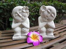Balinese Statues x 2 piece set -10 - 15cm  - 5 designs (sandstone effect)