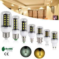 30x LED MAZORCA Bombillas E14 E27 E26 E12 G9 9w 12w 15w 110v 220v 7030