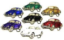 Volkswagen Belt Buckle VW Bettle Car Design 7 Colours Authentic Licensed
