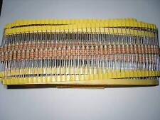 100 pcs 1/4W 47K ohm 5% Carbon Film Fixed Resistor