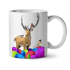 Geometric Nature Fashion NEW White Tea Coffee Mug 11 oz   Wellcoda