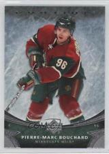 2006-07 Upper Deck Ovation #75 Pierre-Marc Bouchard Minnesota Wild Hockey Card