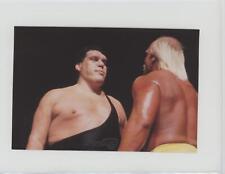 1999 Comic Images WWF WrestleMania Live! #5 Hulk Hogan vs Andre the Giant Card