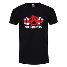 OAP-VECCHIO invecchiato Punk Uomo Nero T-shirt